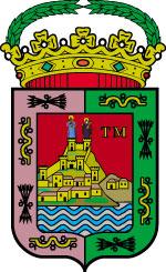 Armas de la ciudad de Málaga.
