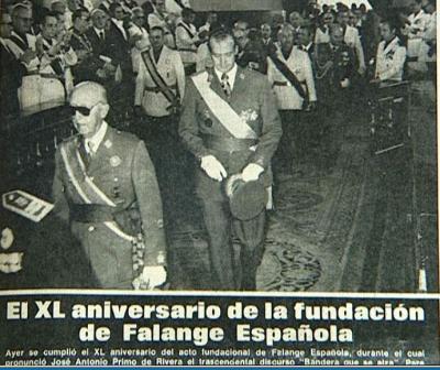 Falangistas y Franquismo, en diez asaltos. Miguel Argaya Roca.