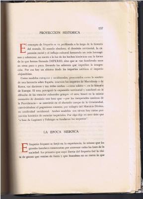 El Imperio Español  en JERARQVIA ( III )