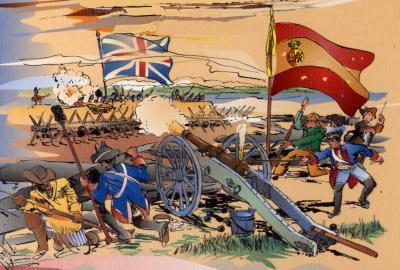 Bernardo de Gálvez y la Revolución Americana