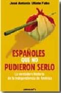 """""""Españoles que no pudieron serlo"""", de Ullate."""